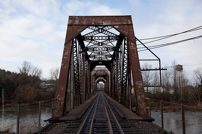 A Train Bridge by Carey Haider for Stocksy United
