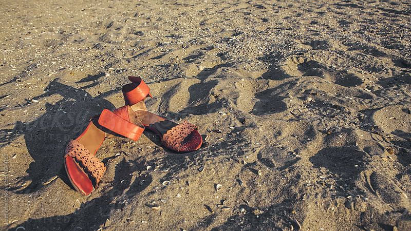 Sandals in Sand by Lumina for Stocksy United
