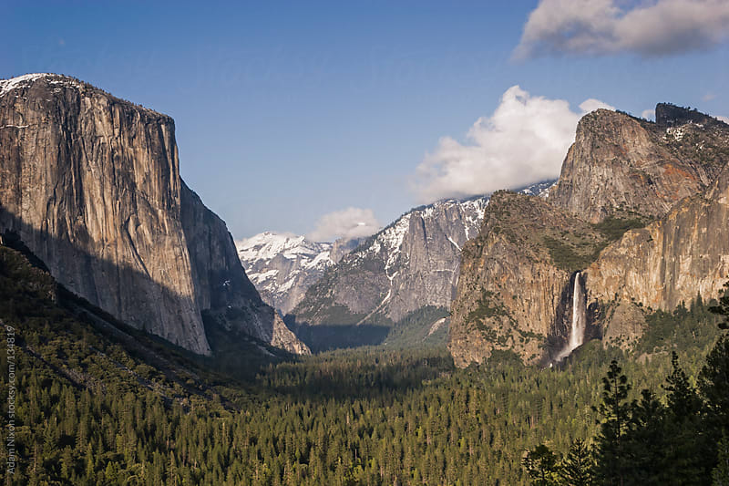 Yosemite Valley, Tunnel View by Adam Nixon for Stocksy United
