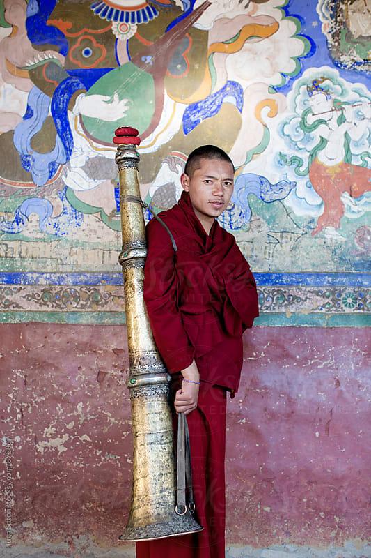 Buddhism in Ladakh. India. by Hugh Sitton for Stocksy United