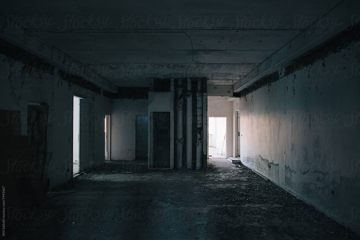 Dark abandoned building room by Willy Able - Stocksy United
