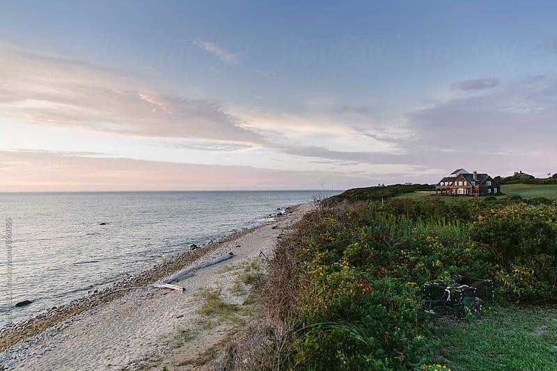 Beach on Block Island, Rhode Island by Raymond Forbes LLC for Stocksy United