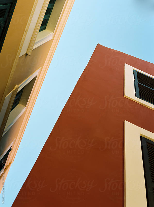 Architectural detail in Kastellorizo, Greece. by Kirstin Mckee for Stocksy United