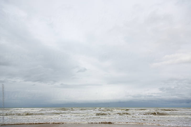 Clouds over the sea by Tommaso Tuzj for Stocksy United