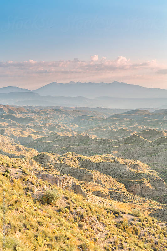 Beautiful badlands landscape by Marilar Irastorza for Stocksy United