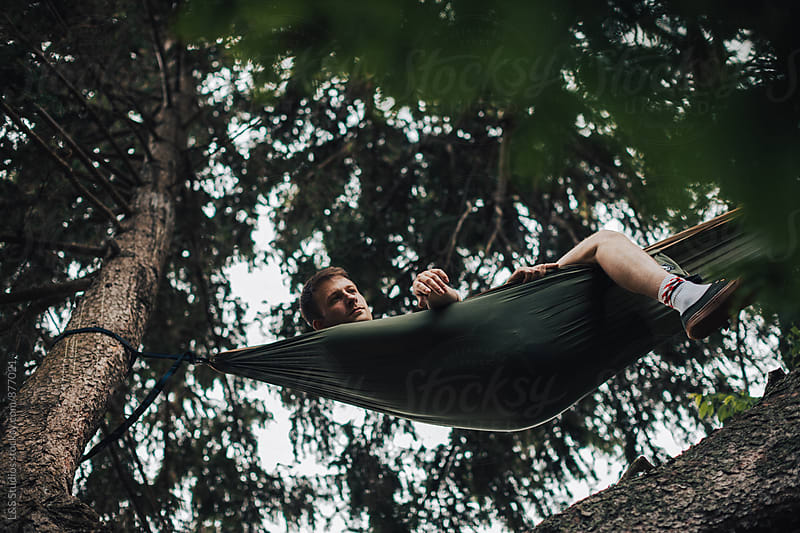 Hammock From Below by L&S Studios for Stocksy United