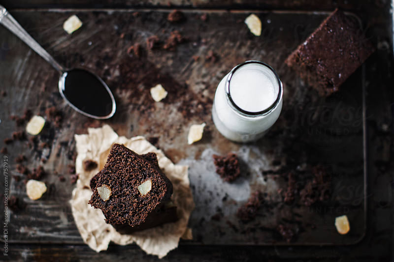 Gingerbread cake by Federica Di Marcello for Stocksy United