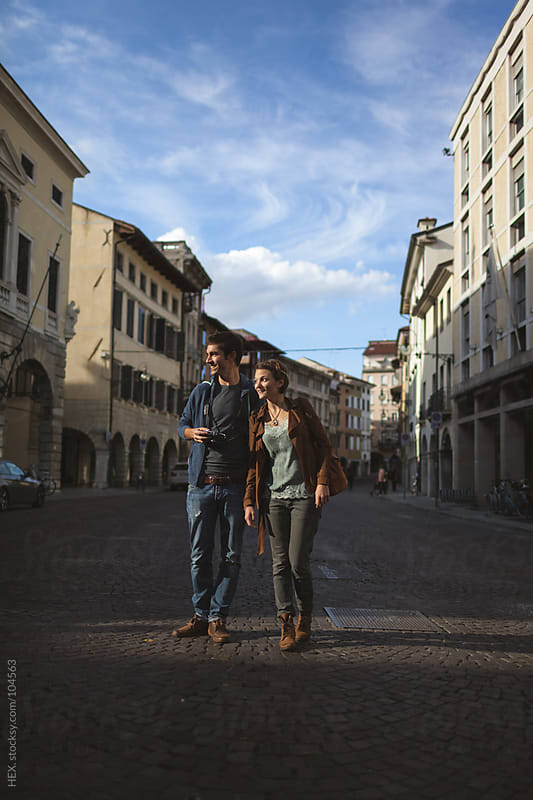 Couple During Holidays in Italy by HEX. for Stocksy United