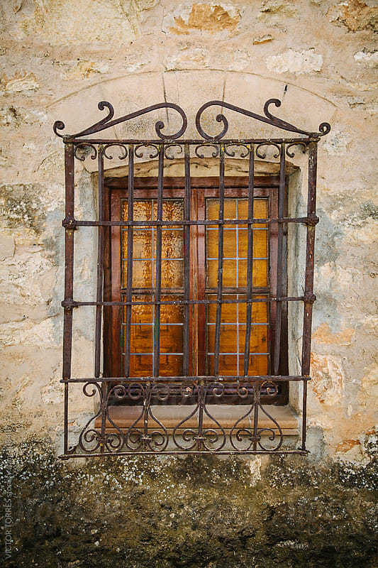 Old Rustic Window by VICTOR TORRES for Stocksy United