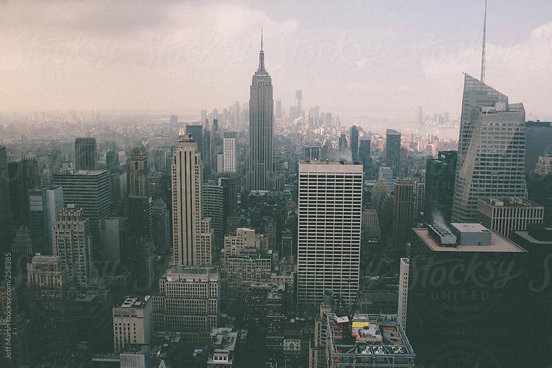 City Skyline by Jeff Marsh for Stocksy United