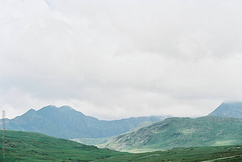 mountains in Wales by Léa Jones for Stocksy United