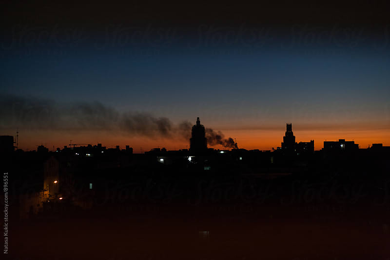 Sunrise over Havana by Natasa Kukic for Stocksy United
