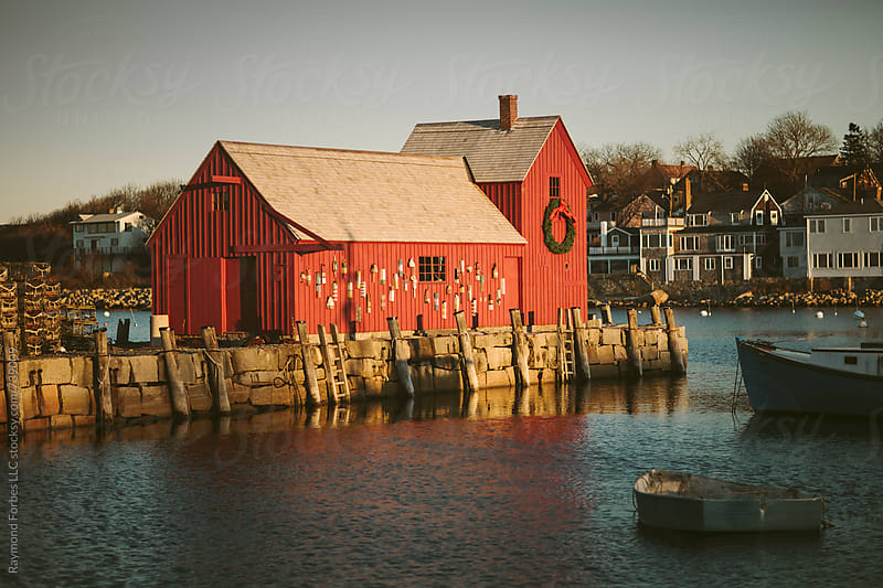 Motif #1 Rockport, Massachusetts by Raymond Forbes LLC for Stocksy United