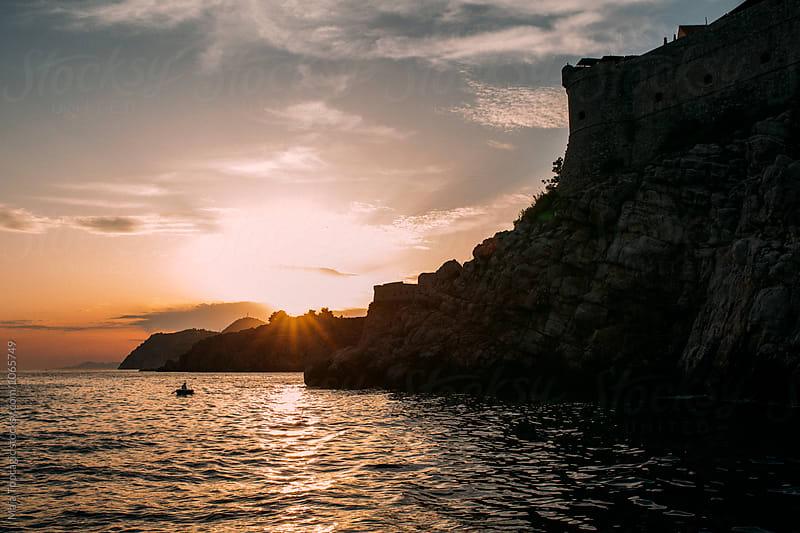 Sunset in Dubrovnik by Maja Topcagic for Stocksy United