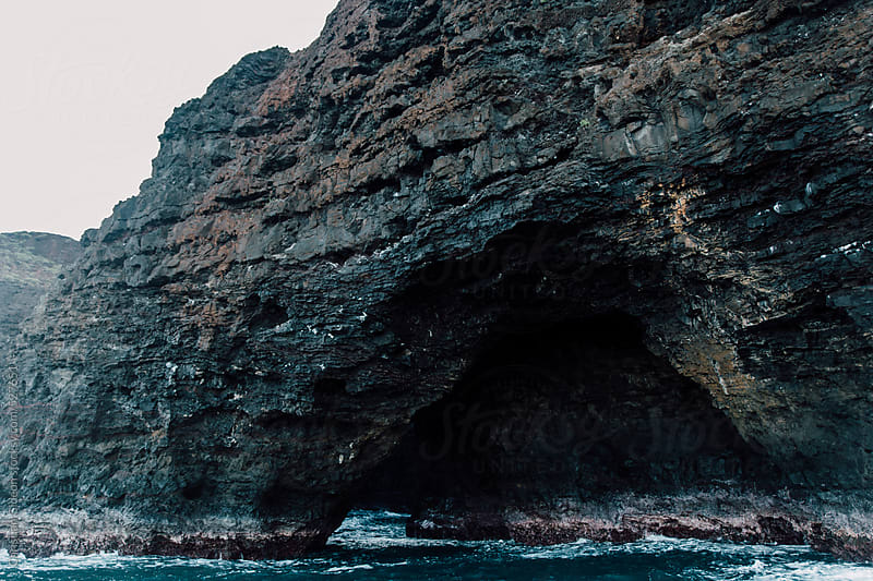 Sea Arch in Hawaii by Christian Gideon for Stocksy United