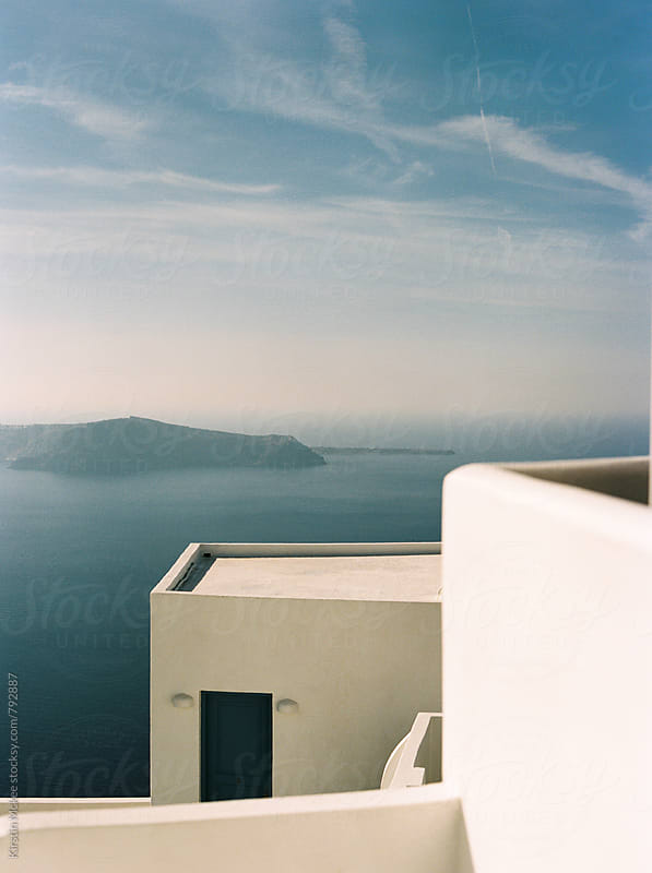 Architectural details, Santorini by Kirstin Mckee for Stocksy United