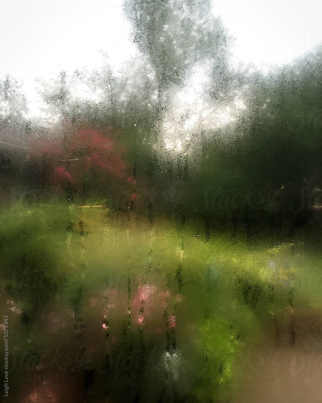 Looking Out Through A Fogged Up Window by Leigh Love for Stocksy United