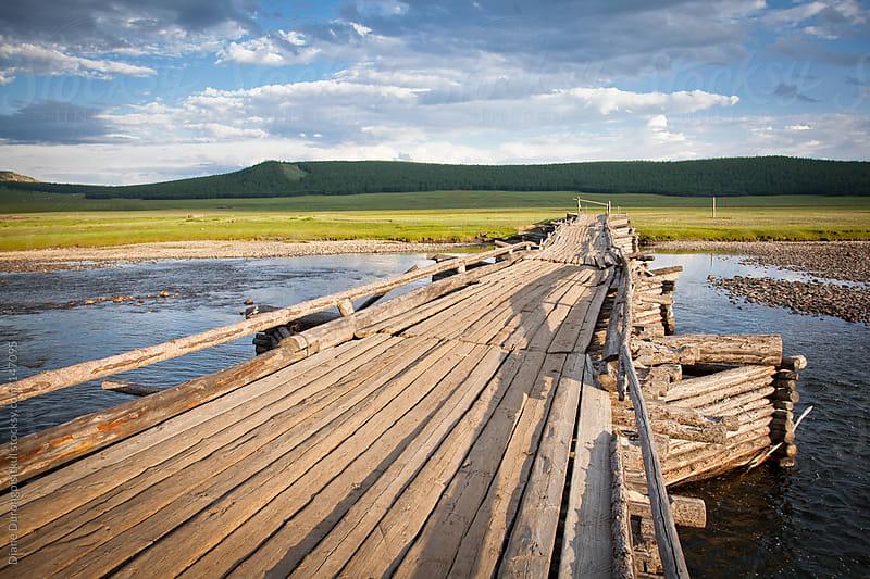 Bridge over River Huug by Diane Durongpisitkul for Stocksy United