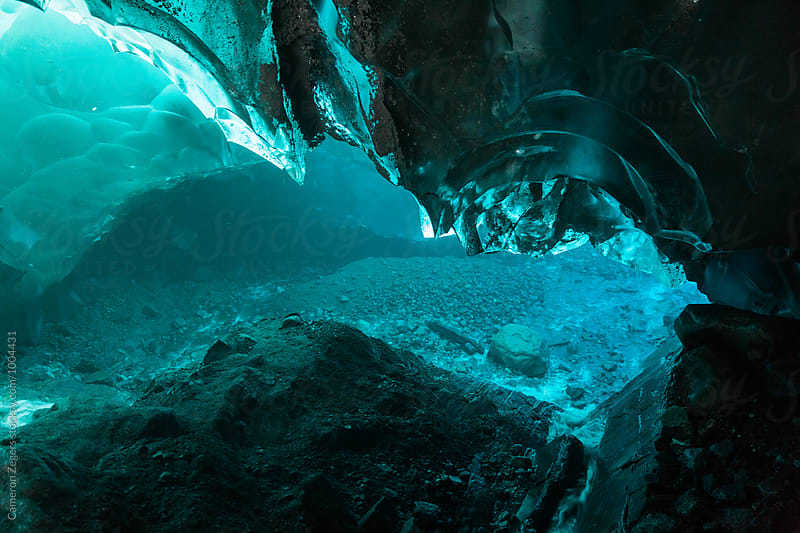 Mendenhall Glacier Ice Cave by Cameron Zegers for Stocksy United