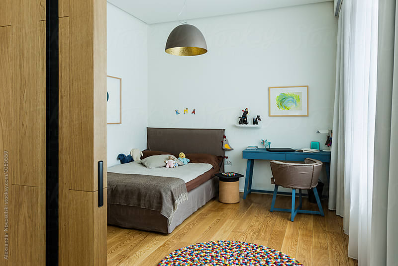 Child's bedroom by Aleksandar Novoselski for Stocksy United