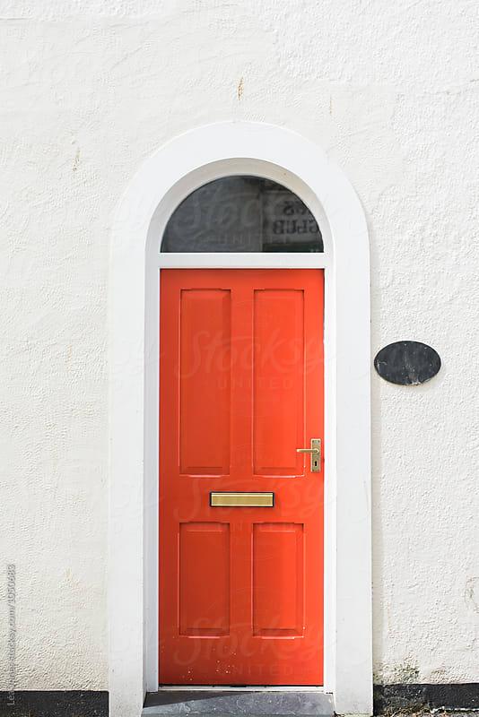 red door by Léa Jones for Stocksy United