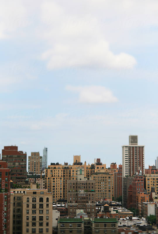 Manhattan Buildings and Rooftops by ALICIA BOCK for Stocksy United