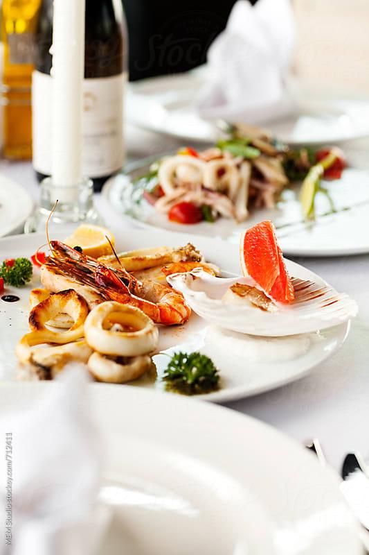 sea food by MEM Studio for Stocksy United
