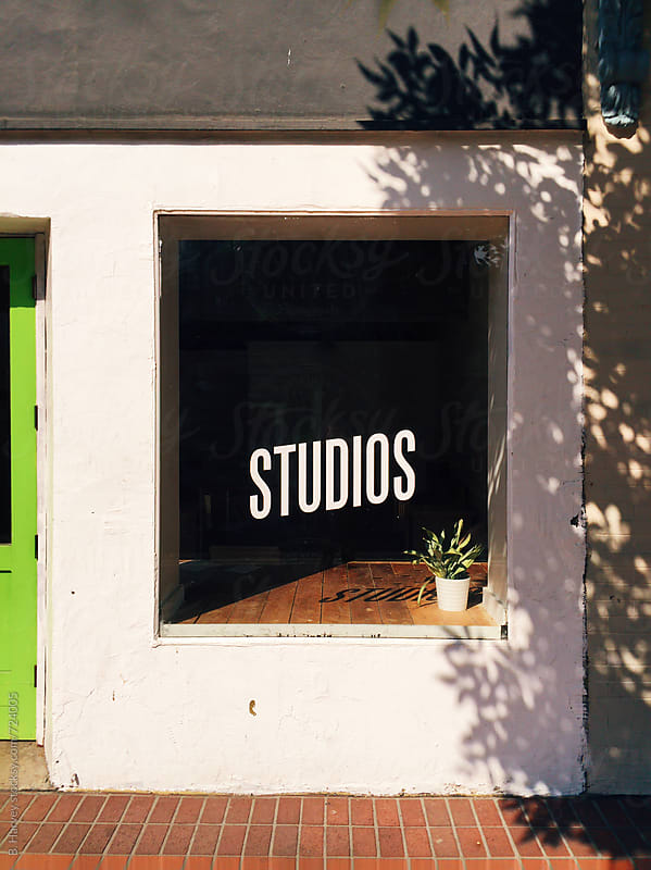 Colorful Studio in an Urban City by B. Harvey for Stocksy United