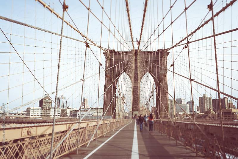 Horizontal Brooklyn Bridge by ACALU Studio for Stocksy United