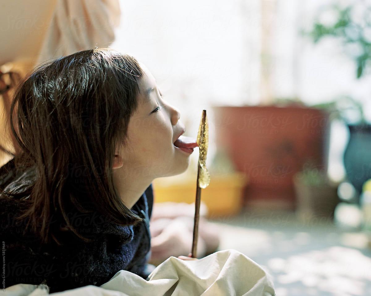 Licking Film