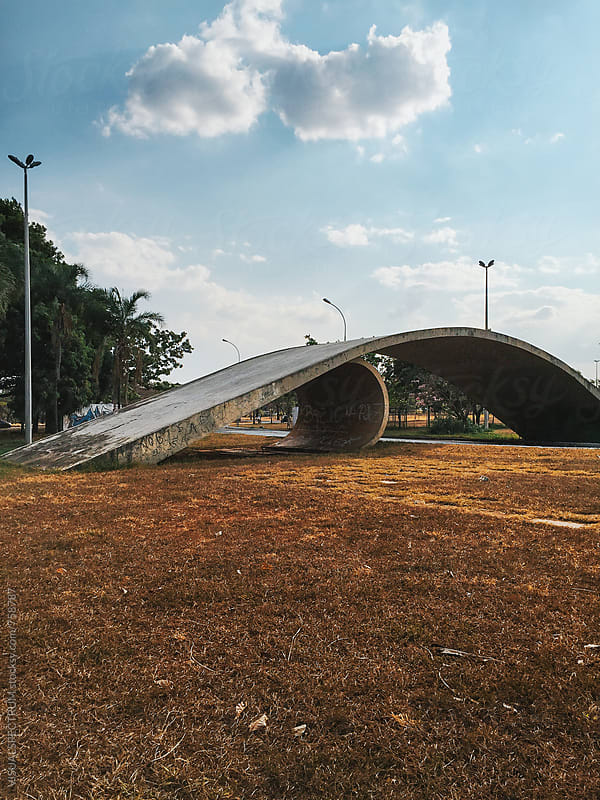 Modern Architecture in Brasilia (Brazil) by Julien L. Balmer for Stocksy United