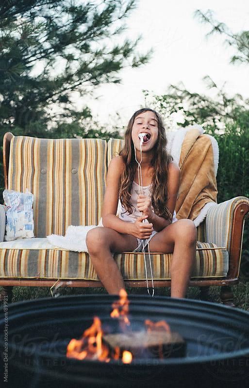 Bonfire by Melanie DeFazio for Stocksy United