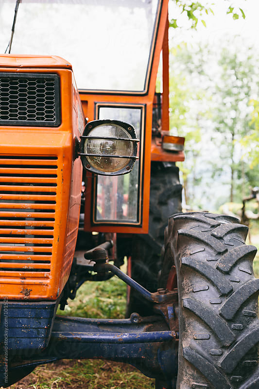 Tractor  by michela ravasio for Stocksy United