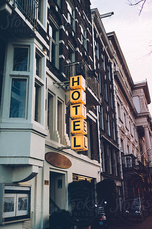 Random Hotel in Amsterdam by Javier Pardina for Stocksy United