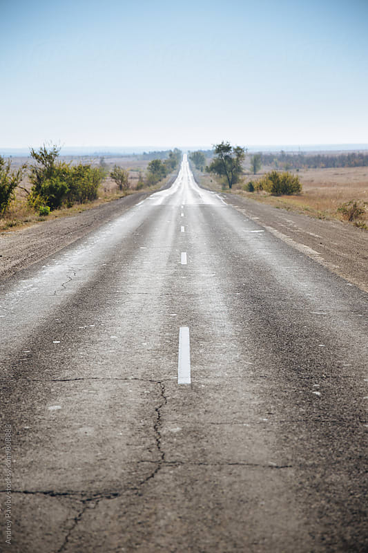Photo of road ahead by Andrey Pavlov for Stocksy United