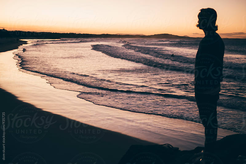 Overlooking Sunset, Australia by dom stuart for Stocksy United