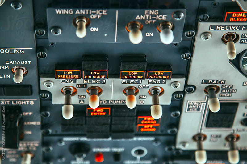 Jet Controls by Victor Torres for Stocksy United