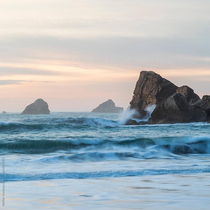 Rough sea by Marilar Irastorza for Stocksy United