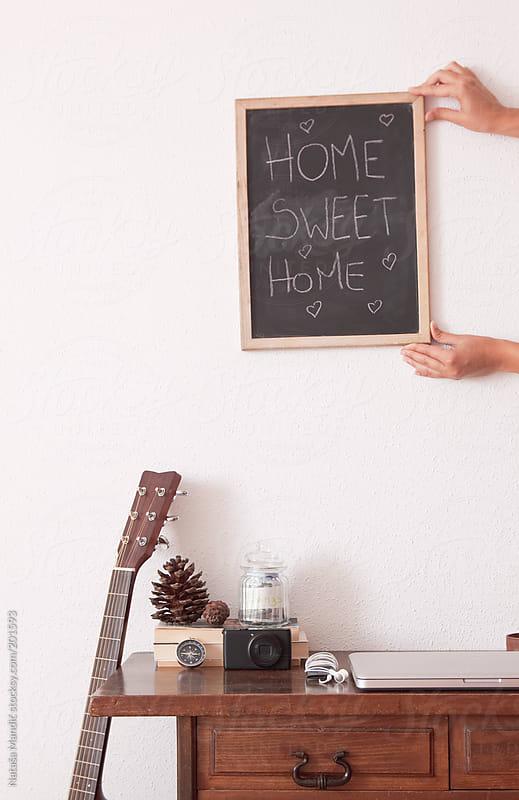 Home sweet home by Nataša Mandić for Stocksy United