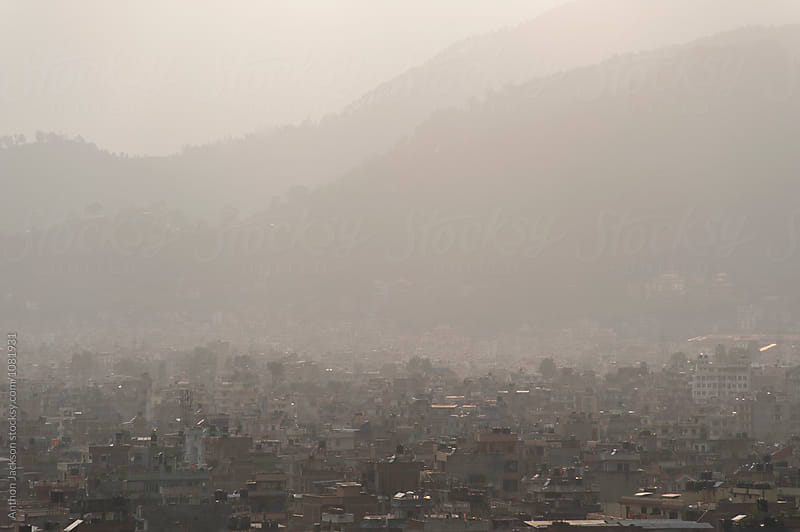 Kathmandu Cityscape by Anthon Jackson for Stocksy United