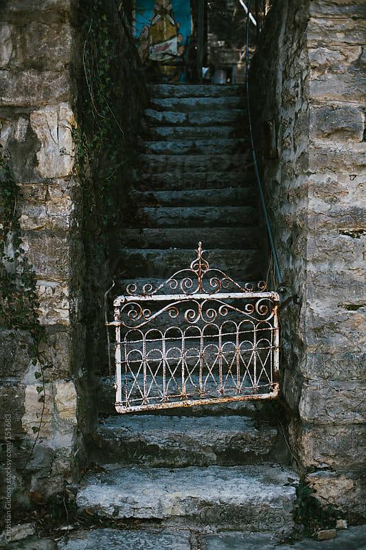 Antique Gate Eureka Springs, AR by Christian Gideon for Stocksy United