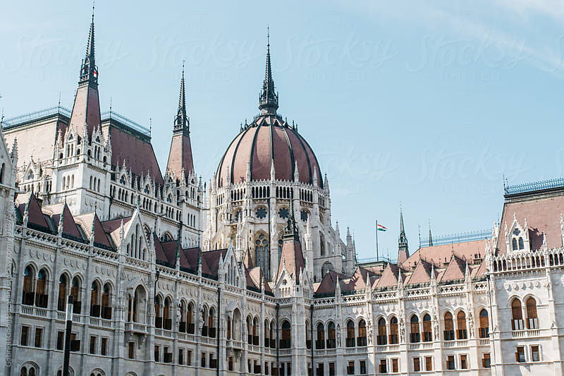 Hungarian parliament in Budapest by Gabriel (Gabi) Bucataru for Stocksy United