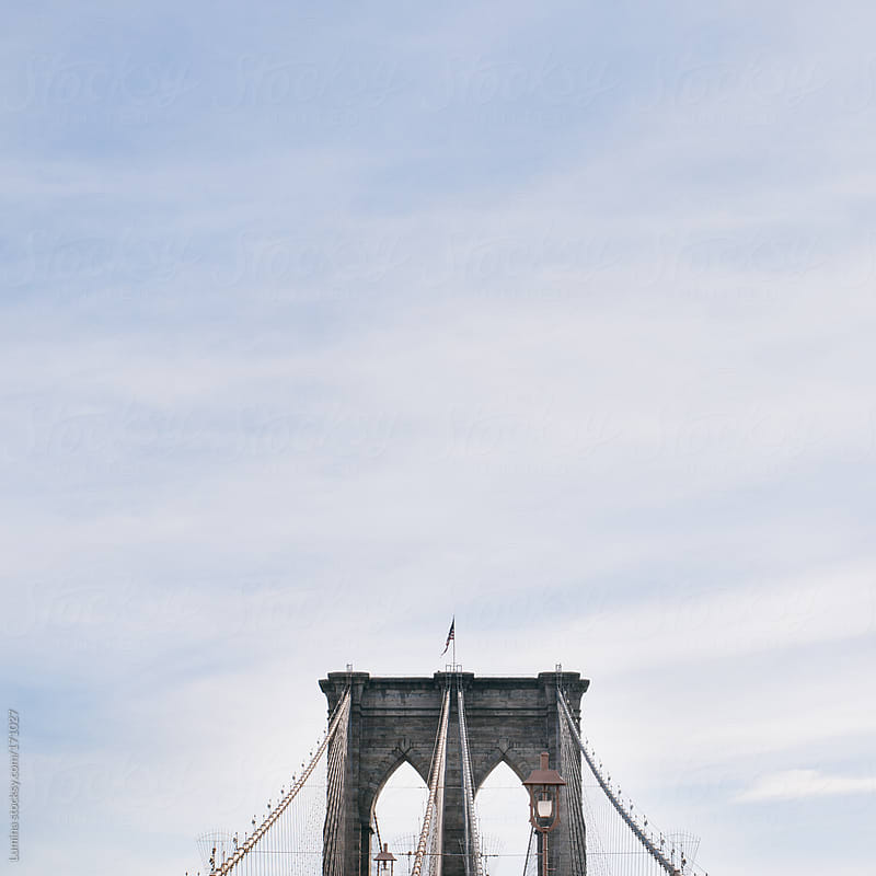 The Brooklyn Bridge by Lumina for Stocksy United