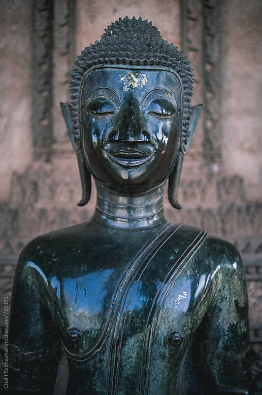 Laos Buddha by Chalit Saphaphak for Stocksy United