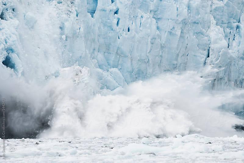 Calving Glacier by Urs Siedentop & Co for Stocksy United