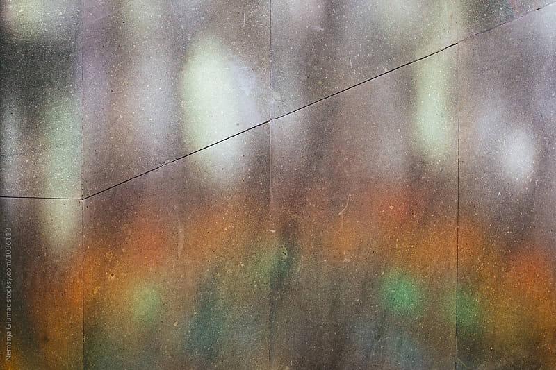 Rainbow Colours Reflecting on a Wall by Nemanja Glumac for Stocksy United
