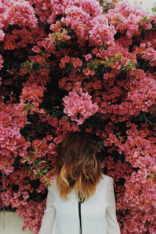 flower bush by Nate & Amanda Howard for Stocksy United