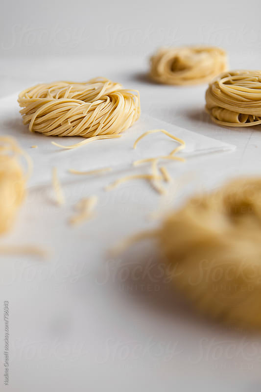 Asian noodles by Nadine Greeff for Stocksy United