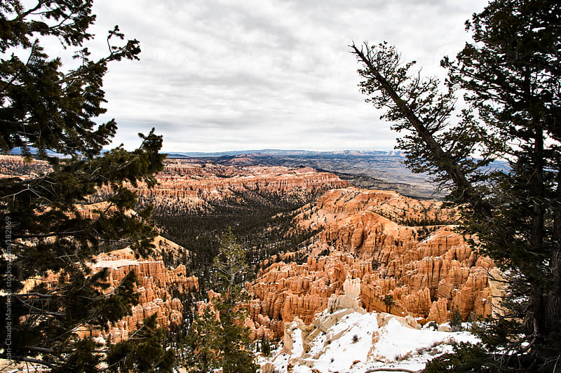 Bryce Canyon national park utah landscape by Jean-Claude Manfredi for Stocksy United