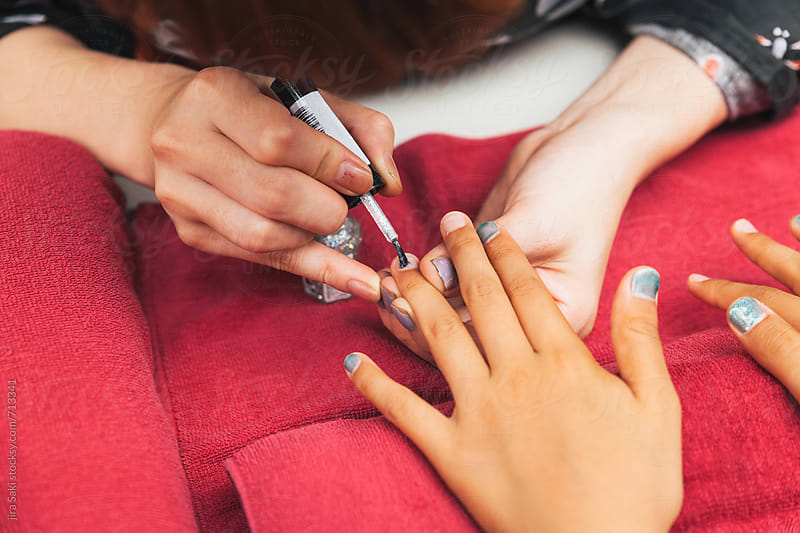 manicure by jira Saki for Stocksy United